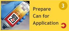 Prepare Can for Application