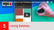 Using Palettes