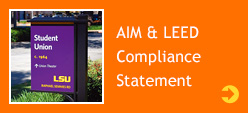 AIM & LEED Compliance Statement